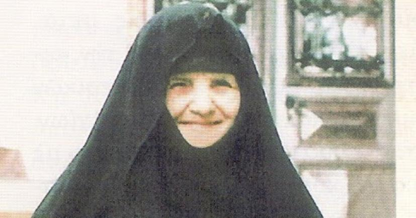 Αποτέλεσμα εικόνας για γεροντισσα Θεοφανω μητερα γεροντος Εφραιμ