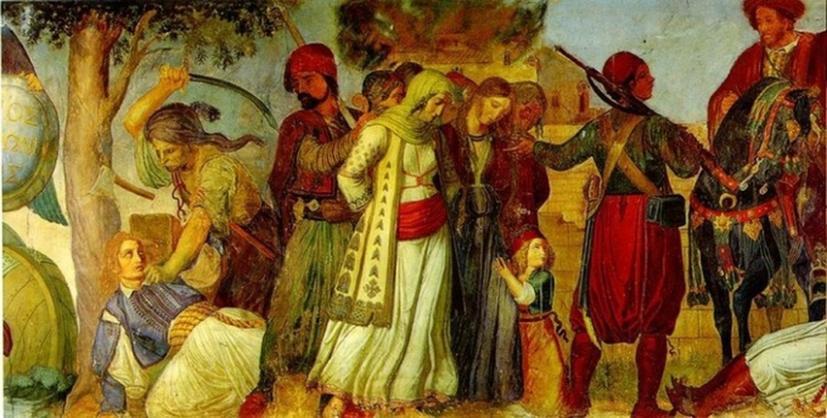 Παπαφλέσσας, μανιάκι, μεσσηνία,  Μεχμέτ Αλή, Ιμπραήμ Πασάς
